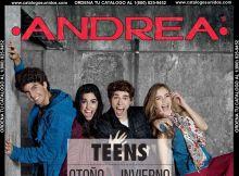 Nuevo Catalogo Teens Andrea