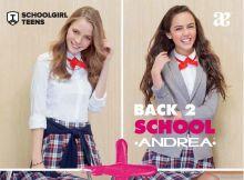 Andrea Back To School Teens Dama