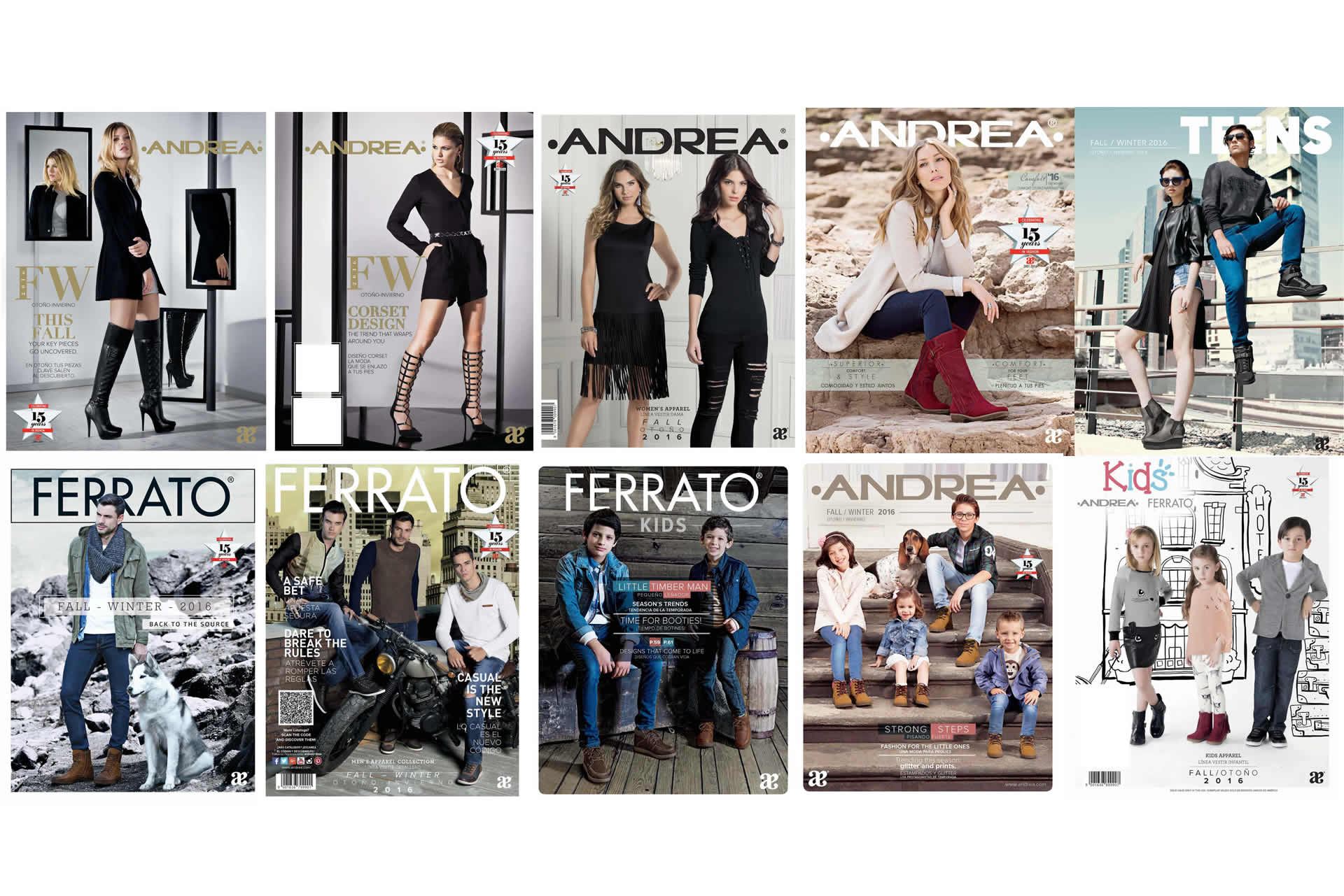 andrea catalogos fall winter 2016 2017 nuevos