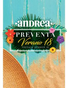 Verano 2018 - Catalogos Andrea 1