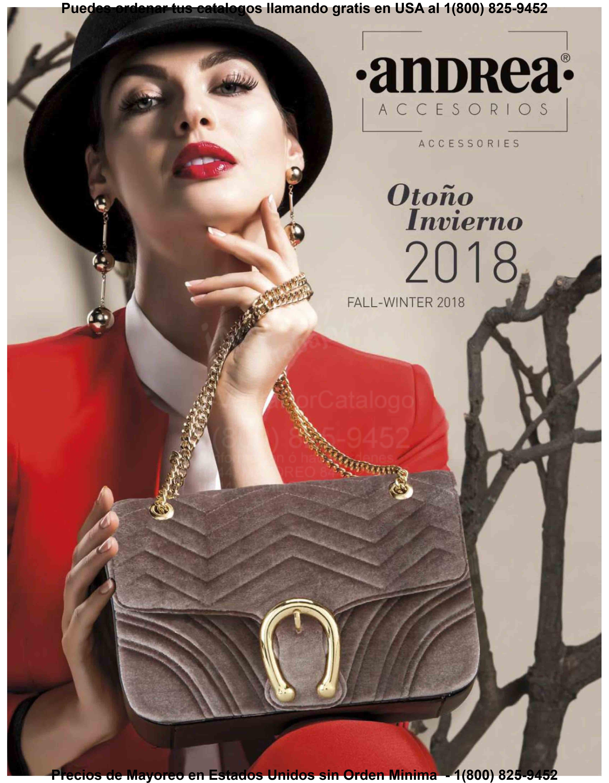 Nuevos catálogos Andrea Colección Otoño-Invierno 2018. Dale clic al catálogo  de tu preferencia y mira todas sus novedades en calzado y ropa con lo mejor  de ... 06ace95365c5