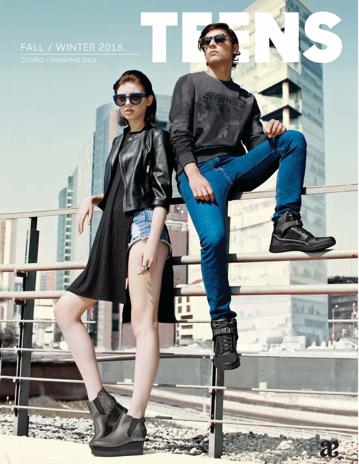 Andrea teens catalogo oto o invierno 2016 2017 for Zapatos por catalogo
