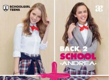Andrea Back To School Teens Dama