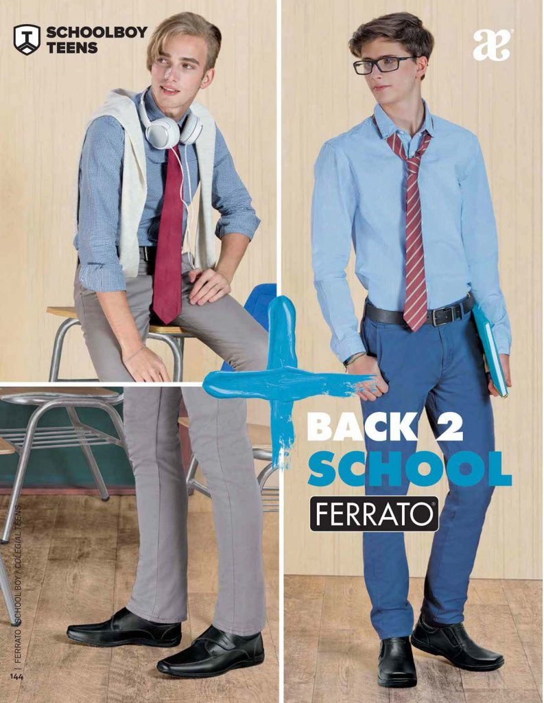 Ferrato Back To School Teens Caballero